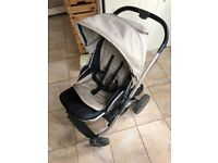 Babystyle Oyster 2 - Chrome Frame, Seat, Cot And Boogie Board