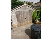 Bike shed, wooden