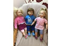 Sally & Sam doll bundle by Zapf Creation