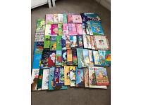 54 pre-school children's books
