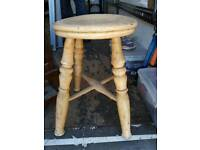 Stool old fashioned