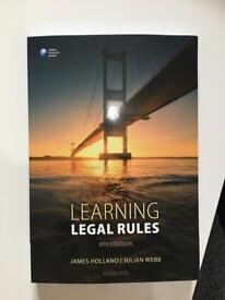 Learning legal rules 9th edition