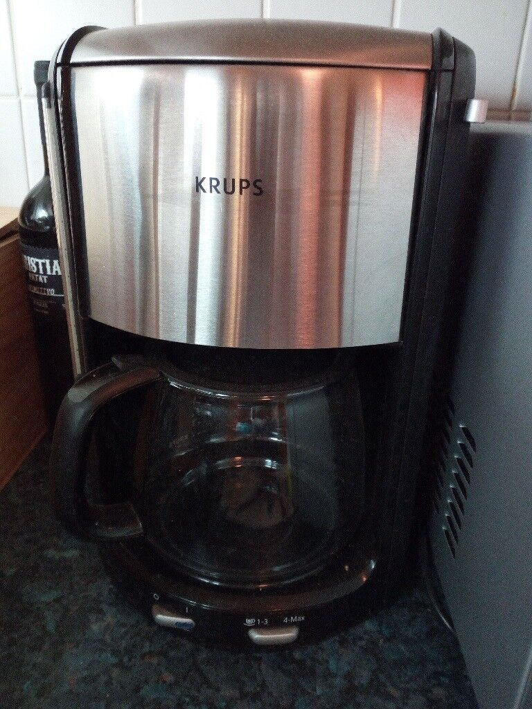 Krups Coffee Machine Filter Coffee Proaroma Fmd395c5 New Never Used In Angel London Gumtree