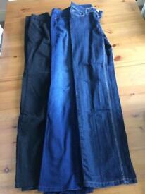 3 x Size 8 ladies Jeans