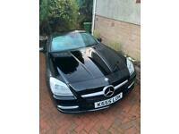 Mercedes-Benz SLK Roadster SLK 200 BlueEfficiency Edition 125 2dr Auto convertible black