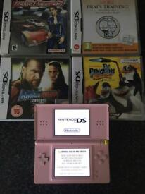 Ds console and games