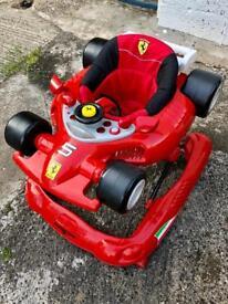 Child's Ferrari walker