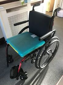 Very lightweight Carbon Fibre Veloce wheelchair. VGC . If interested can supply photos
