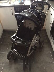 Graco 3 in one pram with easy fit car seat