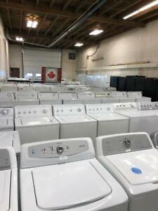 HUGE WASHER DRYER SALE THIS SATURDAY 16665 111 AVE USED HOME APPLIANCE WAREHOUSE FULL 1 YEAR IN HOME PREMIUM WARRANTY!!!