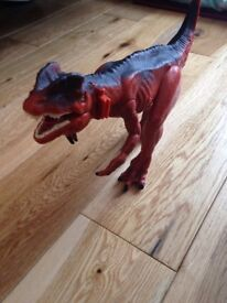 Dinosaur toy with roaring sound