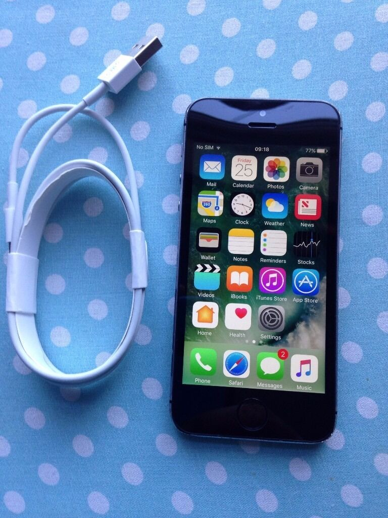 iphone 5s 32gb EEin Coventry, West MidlandsGumtree - iphone 5s black 32gb EE finger print sensor not working otherwise fully working condition comes with usb charger, plug and unused tempered glass screen protector factory reset for new owner selling price 120 pls quote iphone 5s 32gb EE when call or...