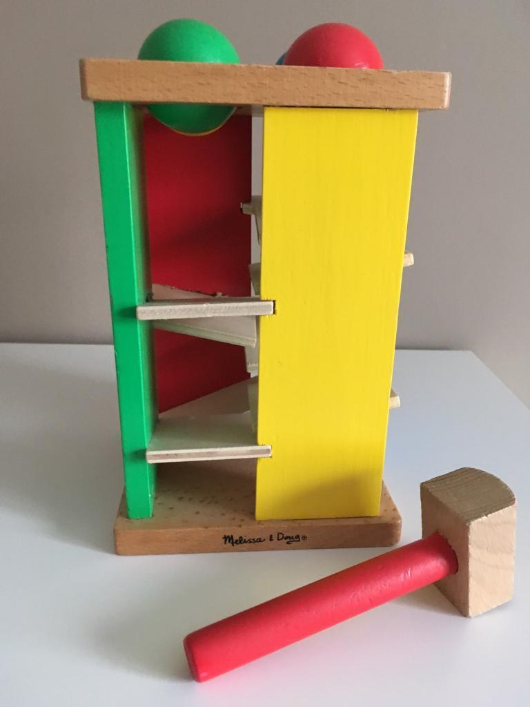 Melissa & Doug Hammer & Ball Wood Toy