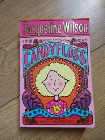 jaqueline wilson book - candy floss