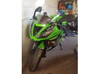 kawasaki 636, 2013, 22,000 milage, 10 months mot (1st one) 1st to see will buy