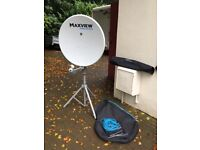 Maxview MXL012/75 portable satellite system