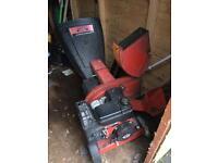Petrol Shredder/Chipper