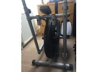 'Gym Time' Cross Trainer, with saddle and LED display.