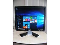 """Dell E177FPb 17"""" LCD Monitor 17 inch Computer Screen Monitor"""