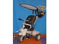 Black/Cream Smart Trike