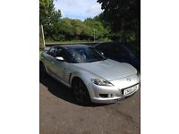 Mazda RX8, good condition for age, rebuilt engine still with 6 months warranty on