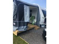 Caravan Awning Size 17, BTR,Only Put Up Once