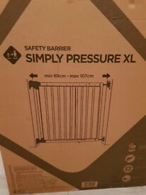 Safety barrier New