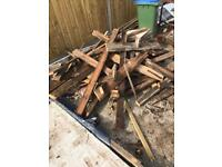 Roofing wood/ fire wood for free