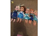 Disney dolls , Elsa lights up and talks