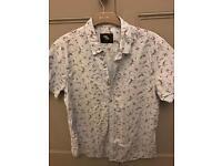 C men's short sleeve shirt L