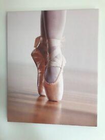 Beautiful ballet canvas