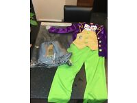 WORLD BOOK DAY WILLY WONKA CHARLIE AND CHOCOLATE FACTORY FANCY DRESS UP OUTFIT COSTUME AGE 7-8 YEARS