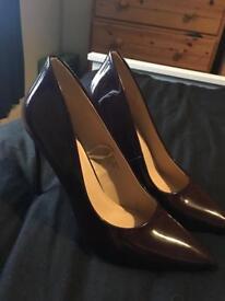 Size 6 New Burgundy Heels