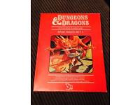 Dungeons and dragons basic rules 1 1981 NEW