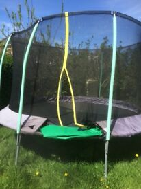 12 feet diameter TP trampoline with safety netting