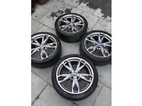 Bmw msport 18inch alloys