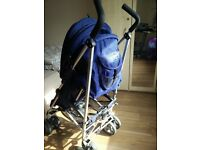 Zeta vroom baby push chair, 1 year old. Excellent condition. Comes with rain cover.