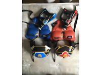 Power rangers laser tag set