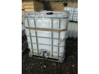 1000 litre IBC Water/Storage tanks