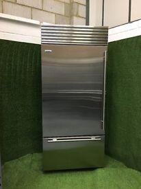 Large Sub Zero Fridge Freezer ICB Model Wolf Gaggenau appliance with ice maker