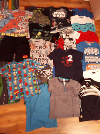 Big bundle of boy's clothes size 6-7 years