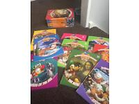 Collection of Disney educational books