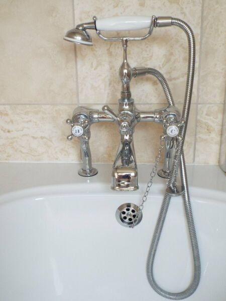 Fired Earth Classic Bath & Shower mixer tap. Hardly used and excellent condition for sale  Bourne, Lincolnshire