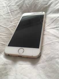 I phone 6 Gold -slight damage, works fine