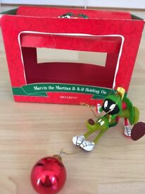 Warner Brothers collectable Christmas decorations