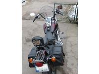 Harley Davidson Wide Glide 1450 chopper