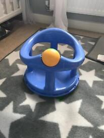 Baby bath and seat