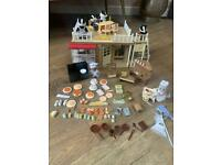 Sylvanian Families Original Bakery With Accessories & Figures