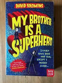 BRAND NEW My Brother is a Superhero Book