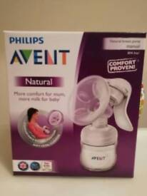 Phillips Avent natural breast pump